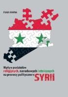 Wpływ podziałów religijnych, narodowych i etnicznych na procesy polityczne w Syrii