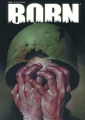 Okładka książki Punisher- Born #4