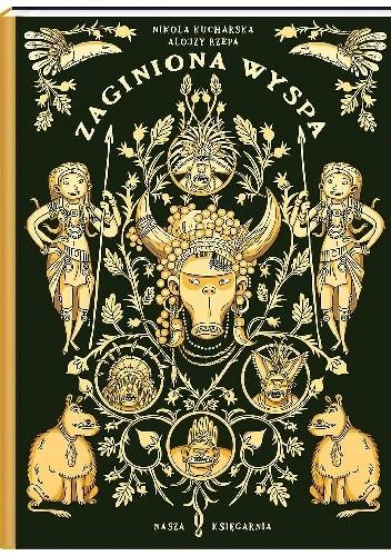 Okładka książki Zaginiona wyspa