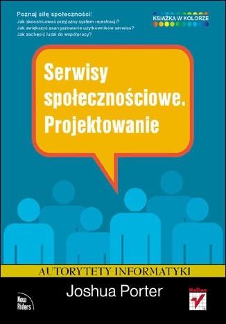 Okładka książki Serwisy społecznościowe. Projektowanie
