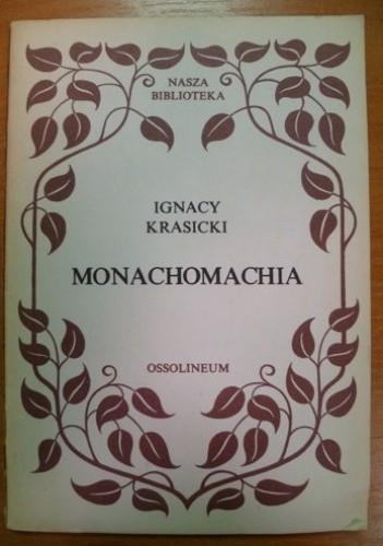 Okładka książki Monachomachia, czyli wojna mnichów