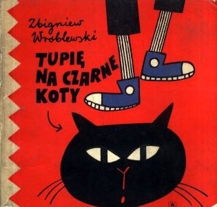 Okładka książki Tupię na czarne koty