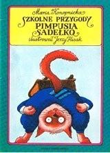 Okładka książki Szkolne przygody Pimpusia Sadełko