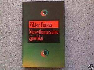 Okładka książki Niewytłumaczalne zjawiska