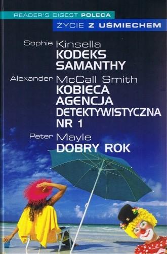 Okładka książki Kodeks Samanthy/Kobieca agencja detektywistyczna nr 1/Dobry rok