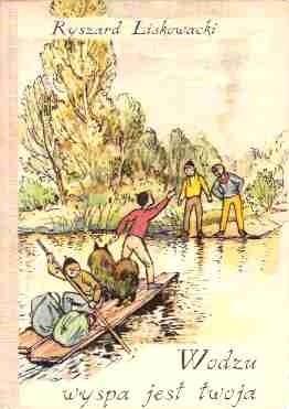 Okładka książki Wodzu, wyspa jest twoja
