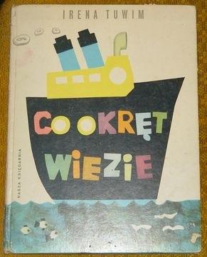 Okładka książki Co okręt wiezie