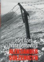 Okładka książki Jeden dzień Iwana Denisowicza