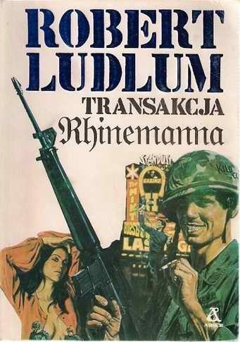 Okładka książki Transakcja Rhinemanna