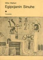 Okładka książki Egipcjanin Sinuhe t. I