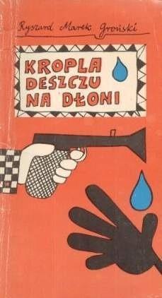 Okładka książki Kropla deszczu na dłoni