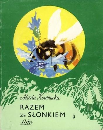Okładka książki Razem ze słonkiem. Lato