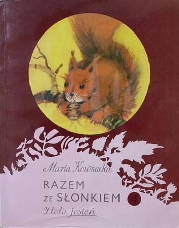 Okładka książki Razem ze słonkiem. Złota jesień