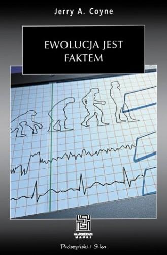 Okładka książki Ewolucja jest faktem