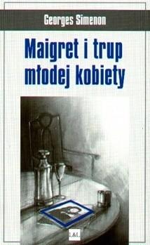 Okładka książki Maigret i trup młodej kobiety