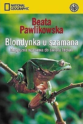 Okładka książki Blondynka u szamana