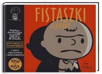 Okładka książki Fistaszki zebrane 1950 - 1952