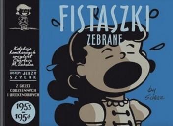 Okładka książki Fistaszki zebrane 1953-1954