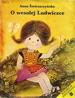 Okładka książki O wesołej Ludwiczce