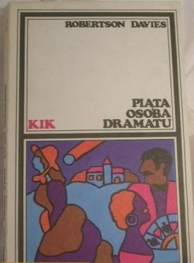Okładka książki Piąta osoba dramatu