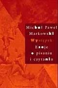 Okładka książki Występek: Eseje o pisaniu i czytaniu