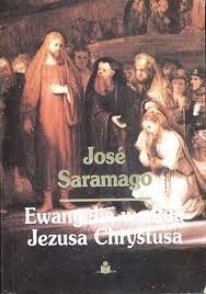 Okładka książki Ewangelia według Jezusa Chrystusa