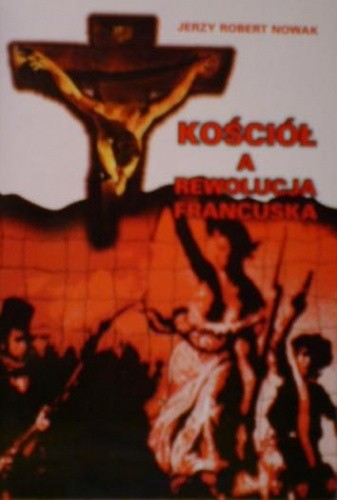 Okładka książki Kościół a Rewolucja Francuska