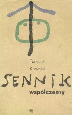 Okładka książki Sennik współczesny