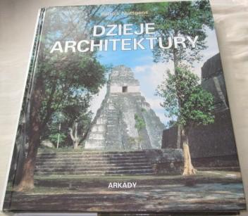Okładka książki Dzieje architektury