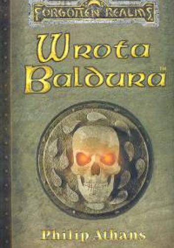 Okładka książki Wrota Baldura