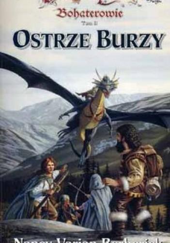 Okładka książki Ostrze burzy
