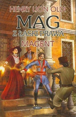 Okładka książki Mag z łaski prawa: Magent