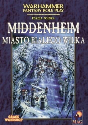 Okładka książki Middenheim - miasto Białego Wilka