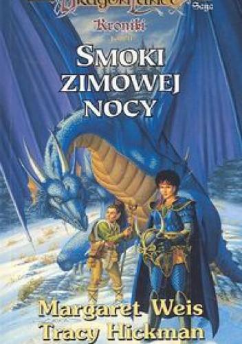 Okładka książki Smoki Zimowej Nocy