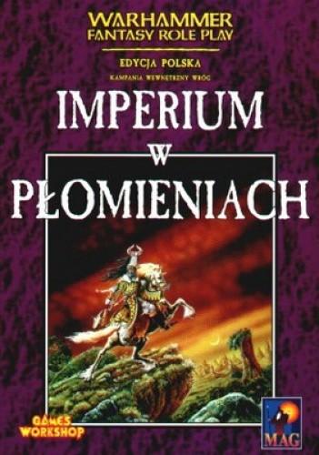 Okładka książki Imperium w płomieniach
