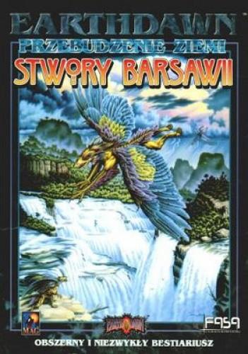 Okładka książki Earthdawn. Stwory Barsawii