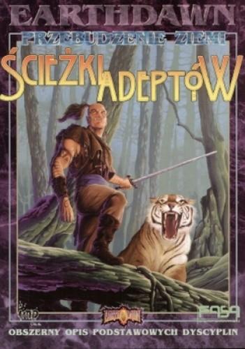 Okładka książki Earthdawn. ścieżki adeptów