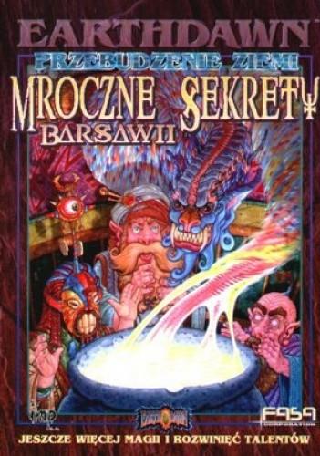 Okładka książki Mroczne sekrety Barsawii