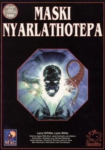 Okładka książki Maski Nyarlathotepa