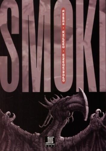 Okładka książki Smoki. Opowiadania, grafika, komiks
