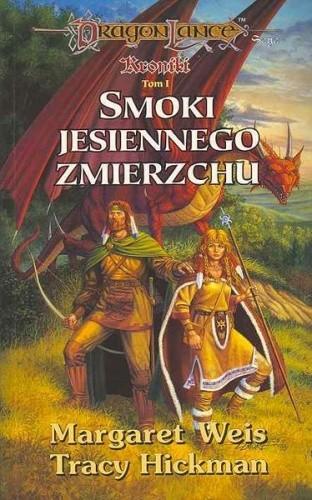 Okładka książki Smoki Jesiennego zmierzchu