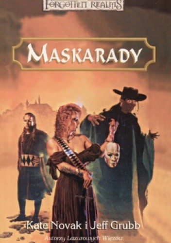 Okładka książki Maskarady