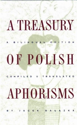 Okładka książki Treasury of Polish Aphorisms