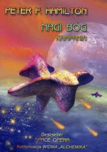 Okładka książki Nagi bóg: Kampania