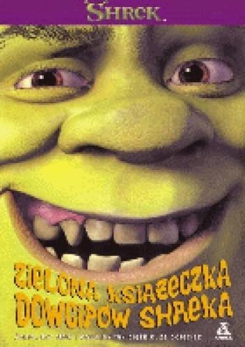 Okładka książki Zielona książeczka dowcipów Shreka