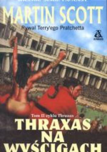Okładka książki Thraxas na wyścigach