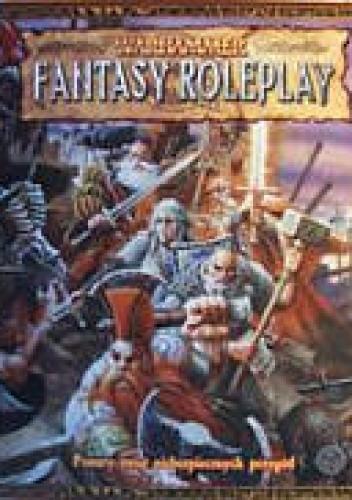 Okładka książki Warhammer Fantasy Roleplay. Ponury świat niebezpiecznych przygód