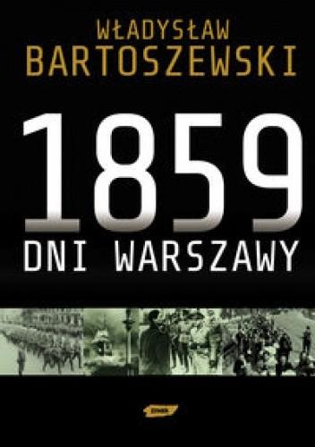 Okładka książki 1859 dni Warszawy