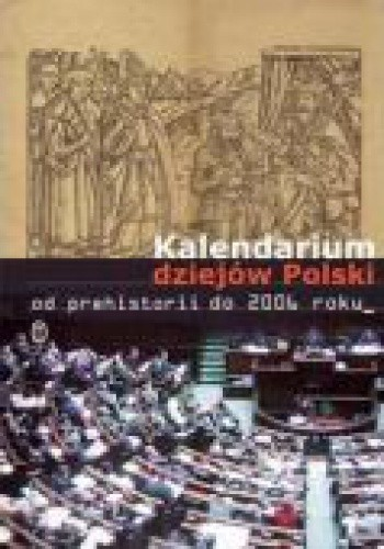 Okładka książki Kalendarium historii Polski