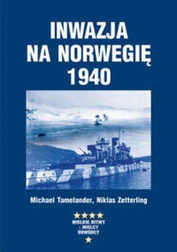 Okładka książki Inwazja na Norwegię 1940